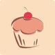 Bild för cupcake